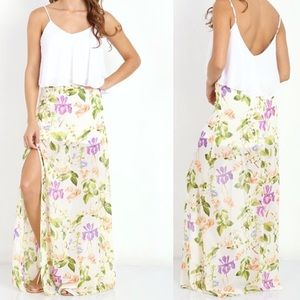 Show Me your Mumu Mick Slit Skirt NWT